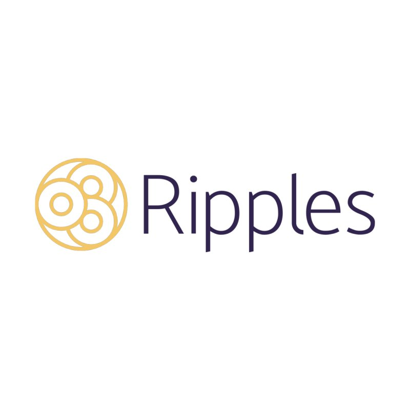 Ripples Horizontal Men's T-Shirt by Ripples of Hope Swag Shop