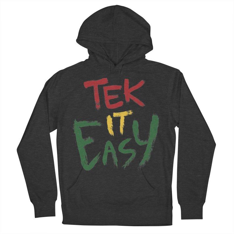 Tek It Easy Men's Pullover Hoody by Rispek!