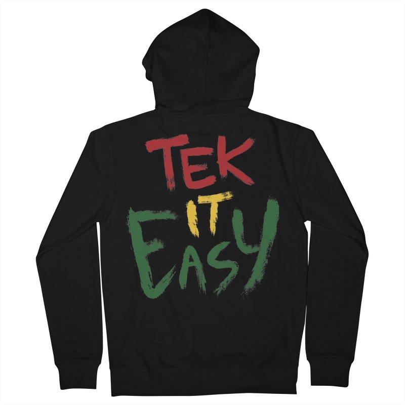 Tek It Easy Men's Zip-Up Hoody by Rispek!