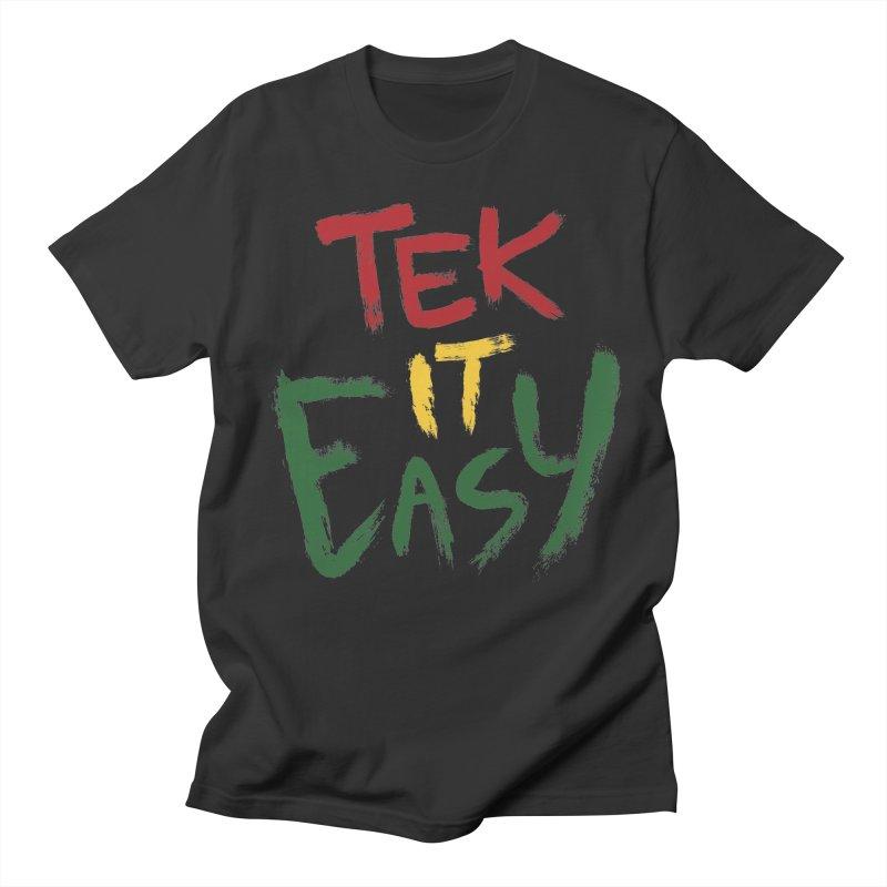 Tek It Easy Men's T-shirt by Rispek!