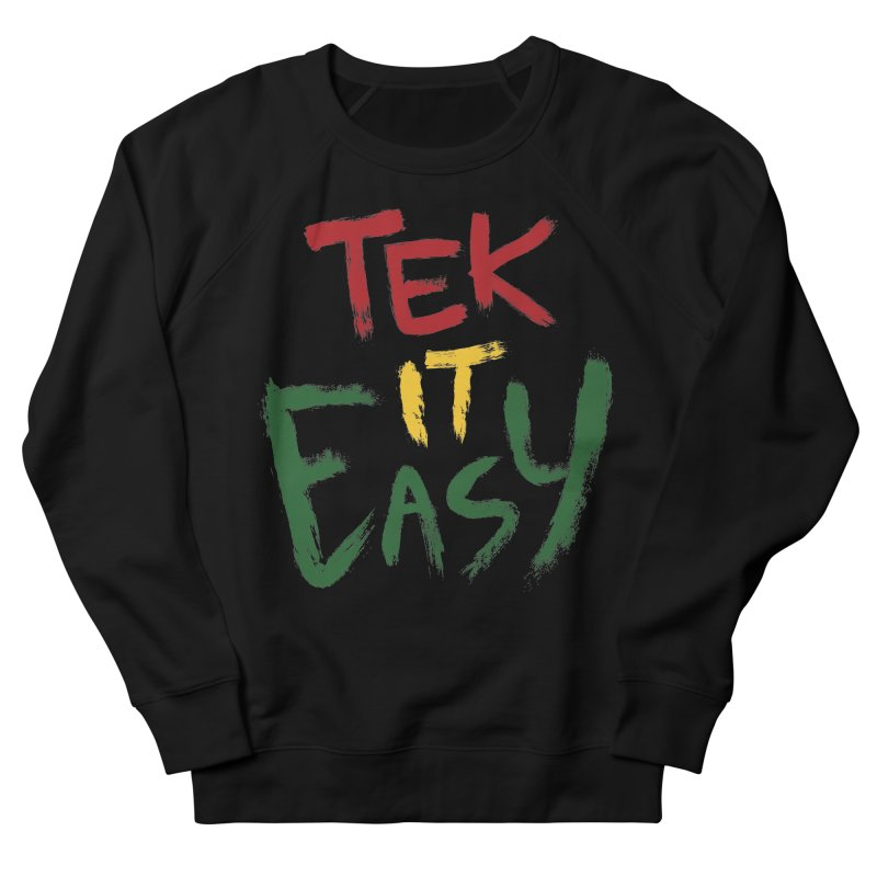 Tek It Easy Men's Sweatshirt by Rispek!