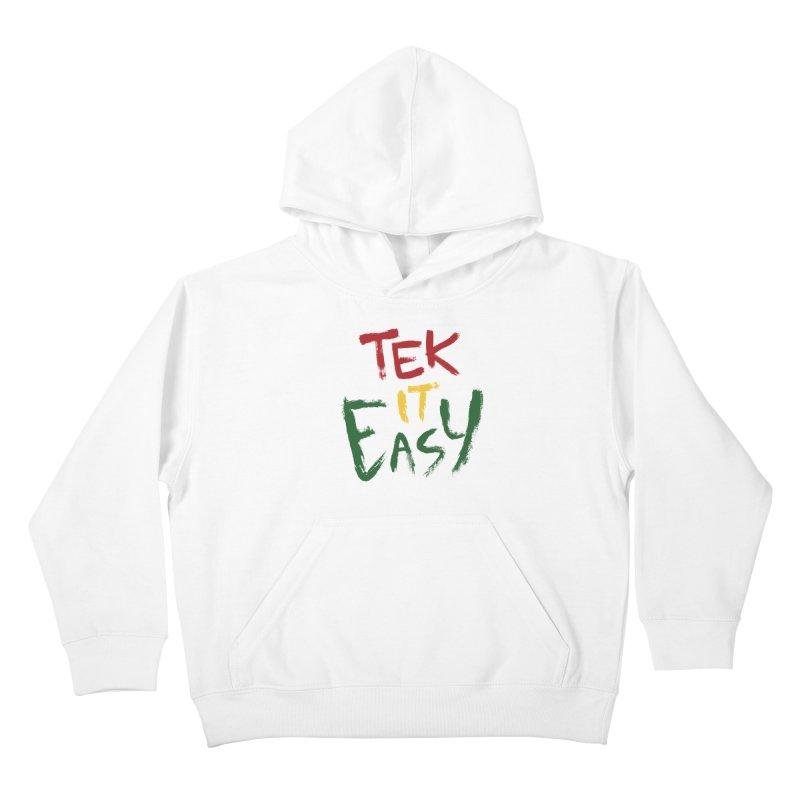 Tek It Easy Kids Pullover Hoody by Rispek!