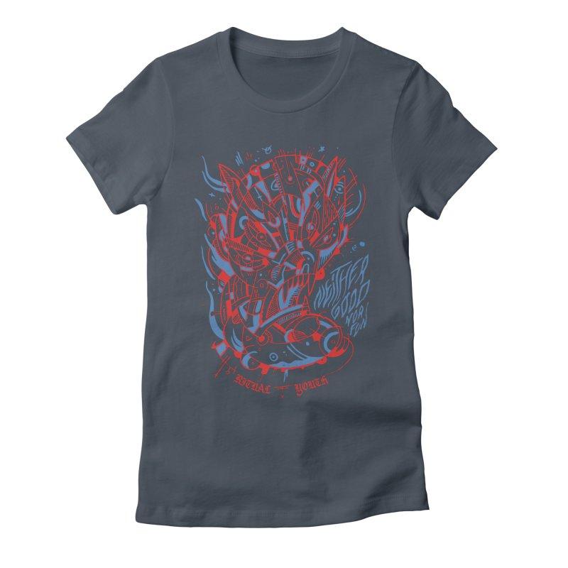 Neither Good Nor Fun (Disco) Women's T-Shirt by Ritual Youth
