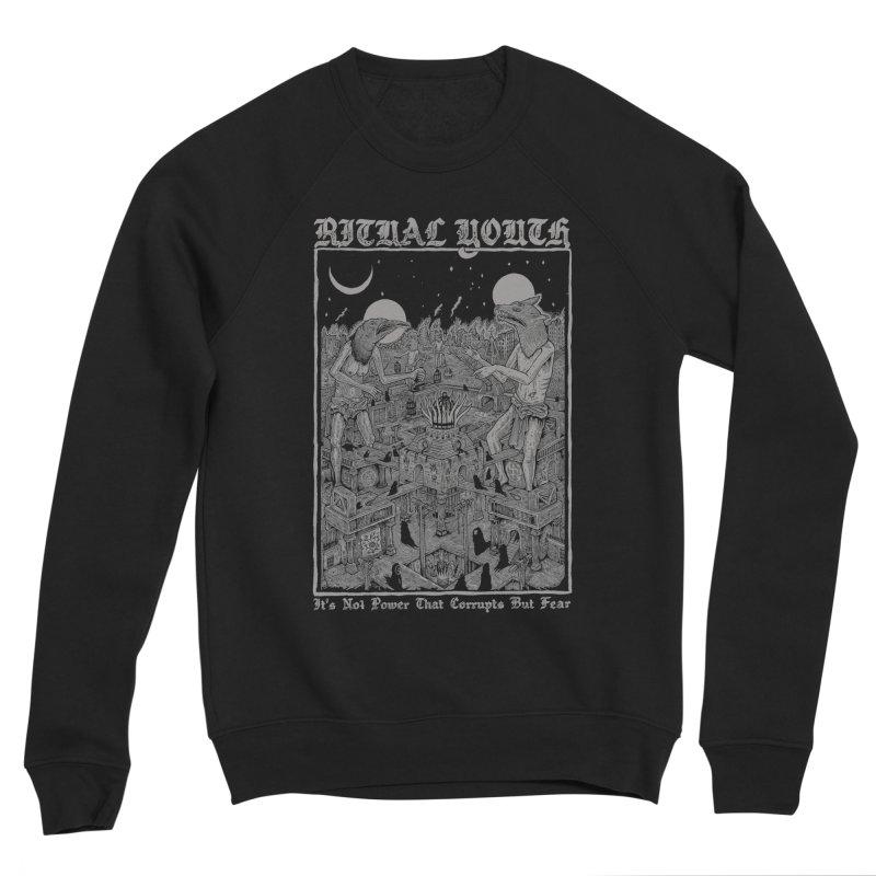 Fear = Corruption Men's Sweatshirt by Ritual Youth