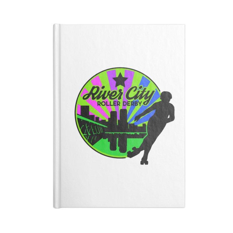 2019 Bi Pride! Accessories Blank Journal Notebook by River City Roller Derby's Artist Shop