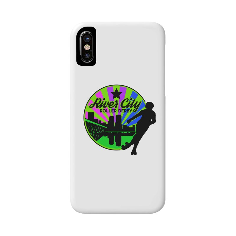 2019 Bi Pride! Accessories Phone Case by River City Roller Derby's Artist Shop