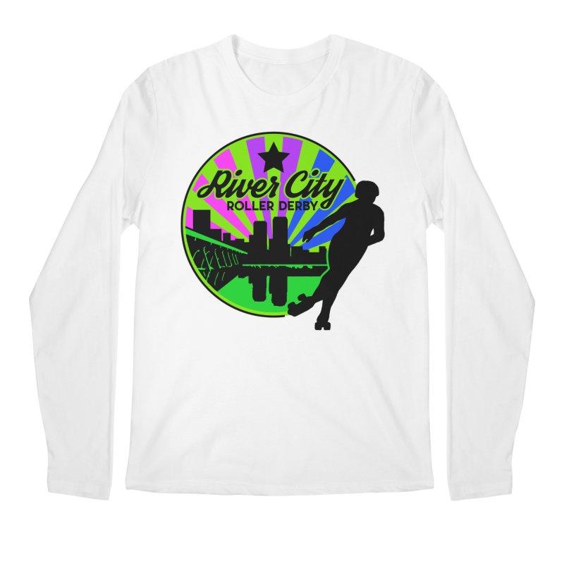 2019 Bi Pride! Men's Regular Longsleeve T-Shirt by River City Roller Derby's Artist Shop