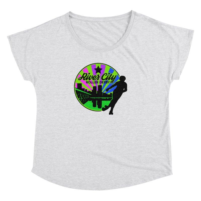 2019 Bi Pride! Women's Dolman Scoop Neck by River City Roller Derby's Artist Shop