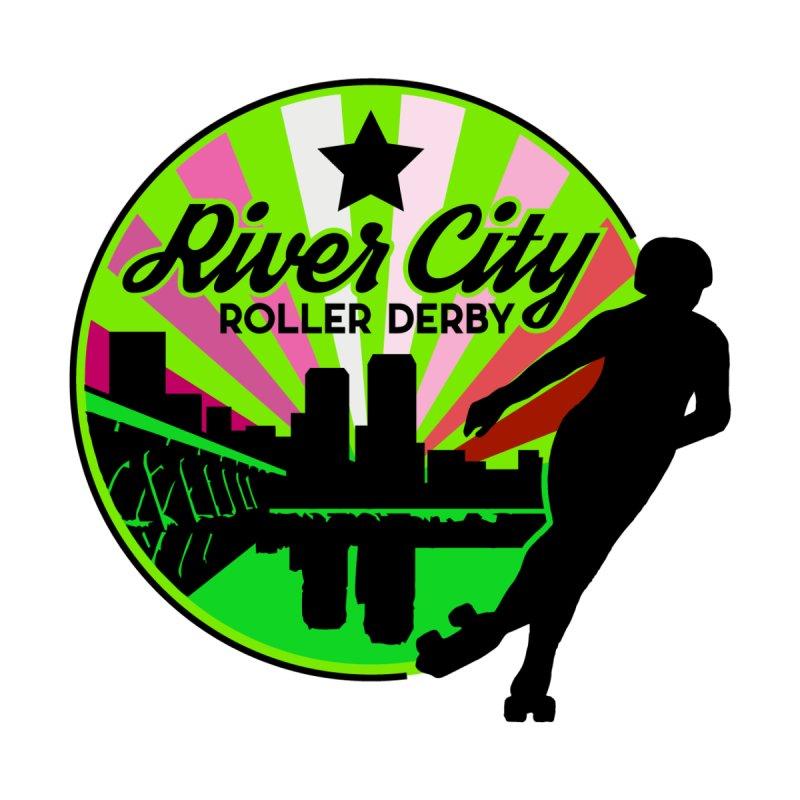 2019 Lesbian Pride! Kids Toddler Longsleeve T-Shirt by River City Roller Derby's Artist Shop