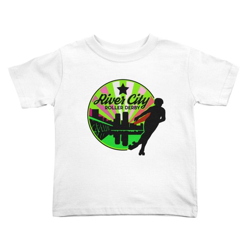 2019 Lesbian Pride! Kids Toddler T-Shirt by River City Roller Derby's Artist Shop