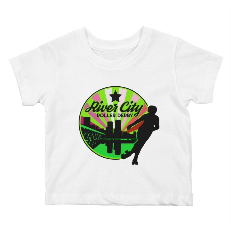 2019 Lesbian Pride! Kids Baby T-Shirt by River City Roller Derby's Artist Shop