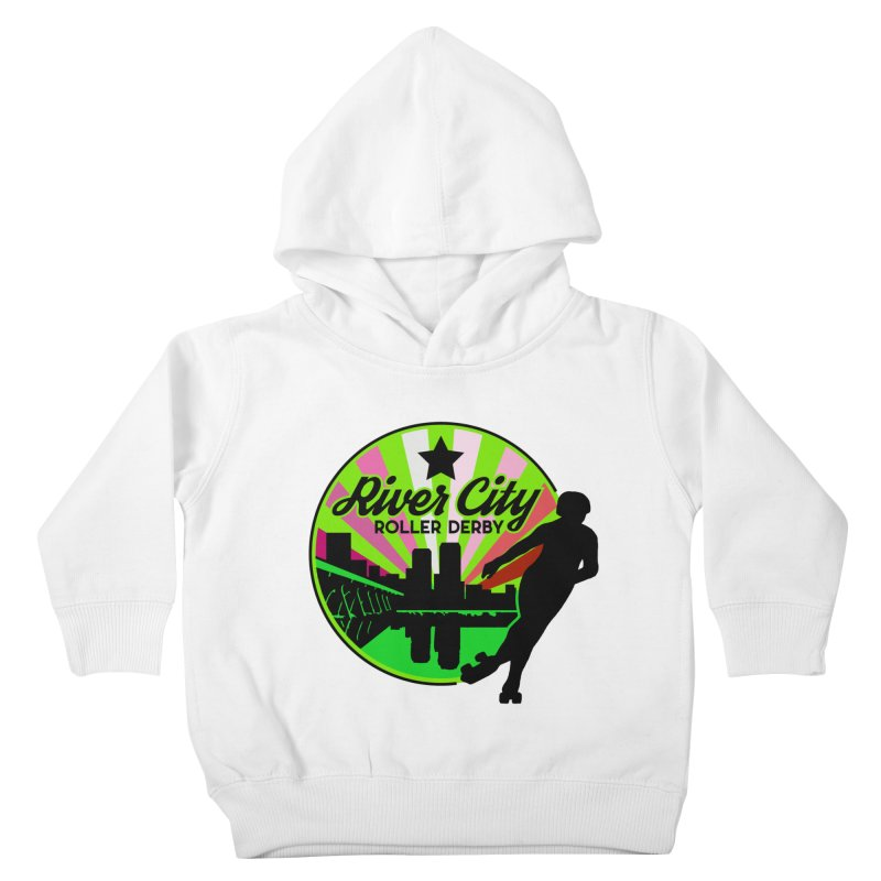 2019 Lesbian Pride! Kids Toddler Pullover Hoody by River City Roller Derby's Artist Shop