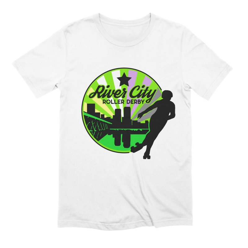 2019 Non Binary Pride! Men's Extra Soft T-Shirt by River City Roller Derby's Artist Shop