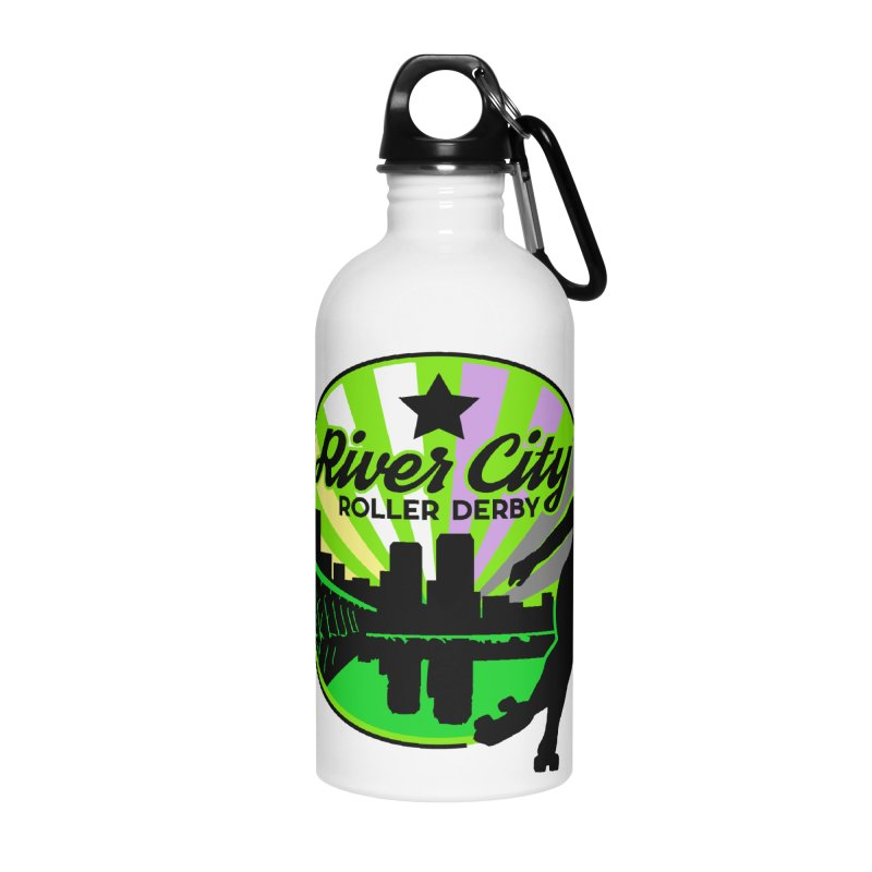 2019 Non Binary Pride! Accessories Water Bottle by River City Roller Derby's Artist Shop