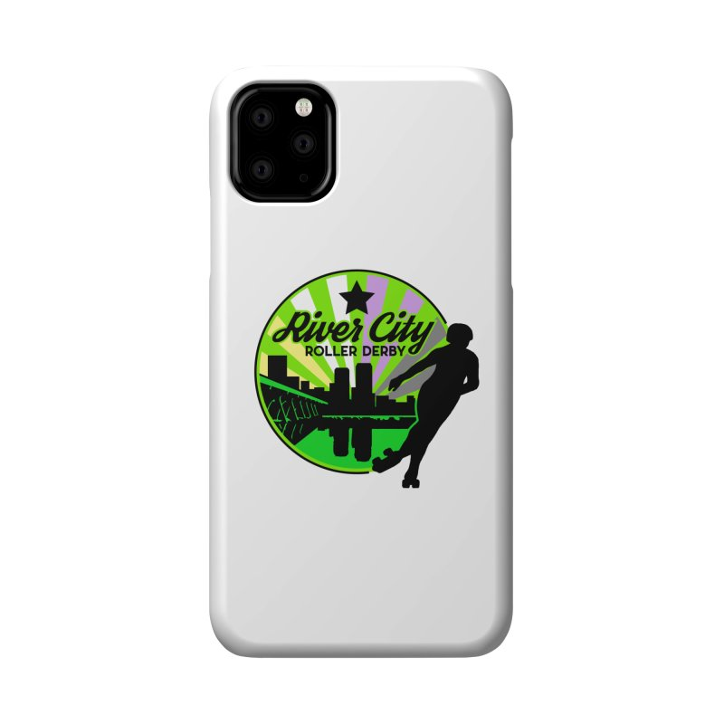 2019 Non Binary Pride! Accessories Phone Case by River City Roller Derby's Artist Shop
