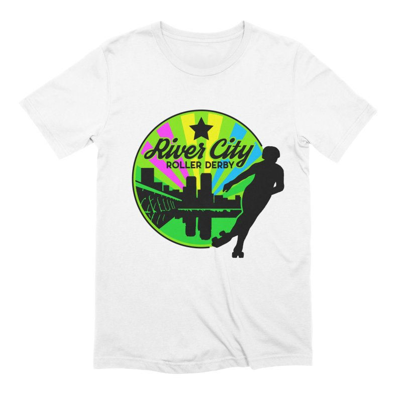 2019 Pan Pride! Men's Extra Soft T-Shirt by River City Roller Derby's Artist Shop