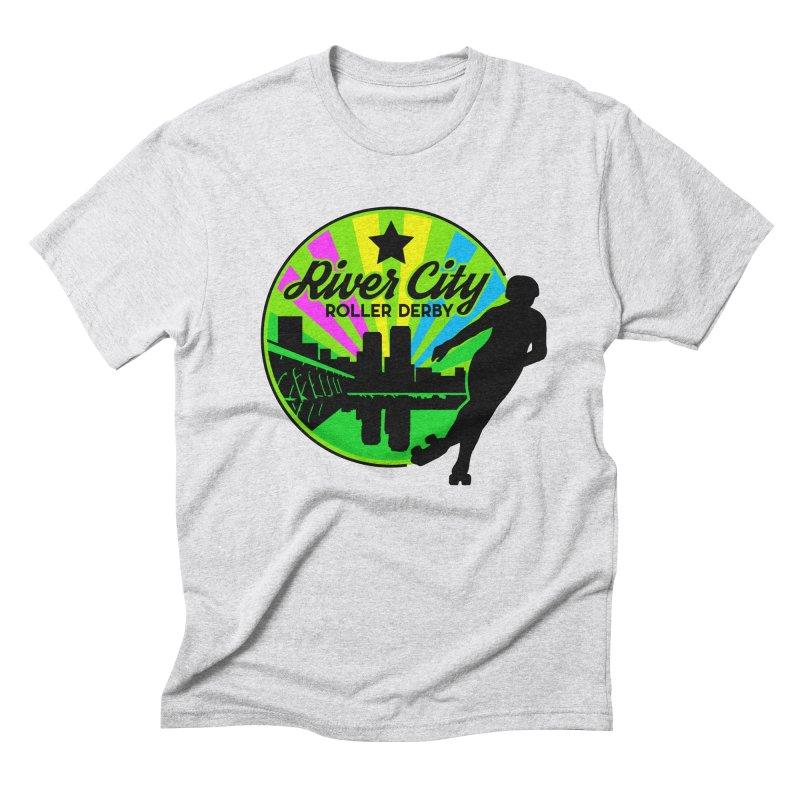 2019 Pan Pride! Men's Triblend T-Shirt by River City Roller Derby's Artist Shop