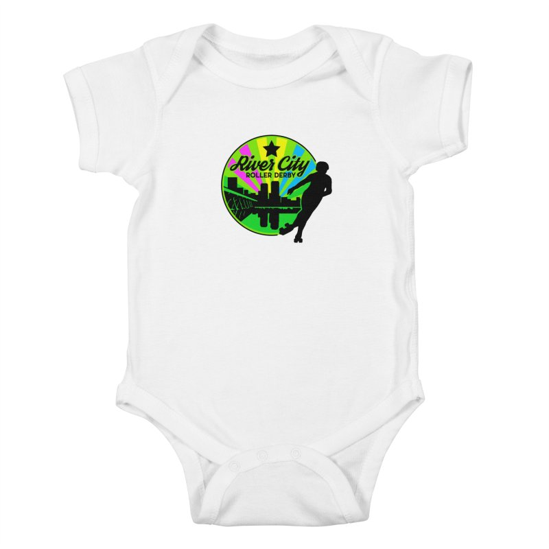 2019 Pan Pride! Kids Baby Bodysuit by River City Roller Derby's Artist Shop
