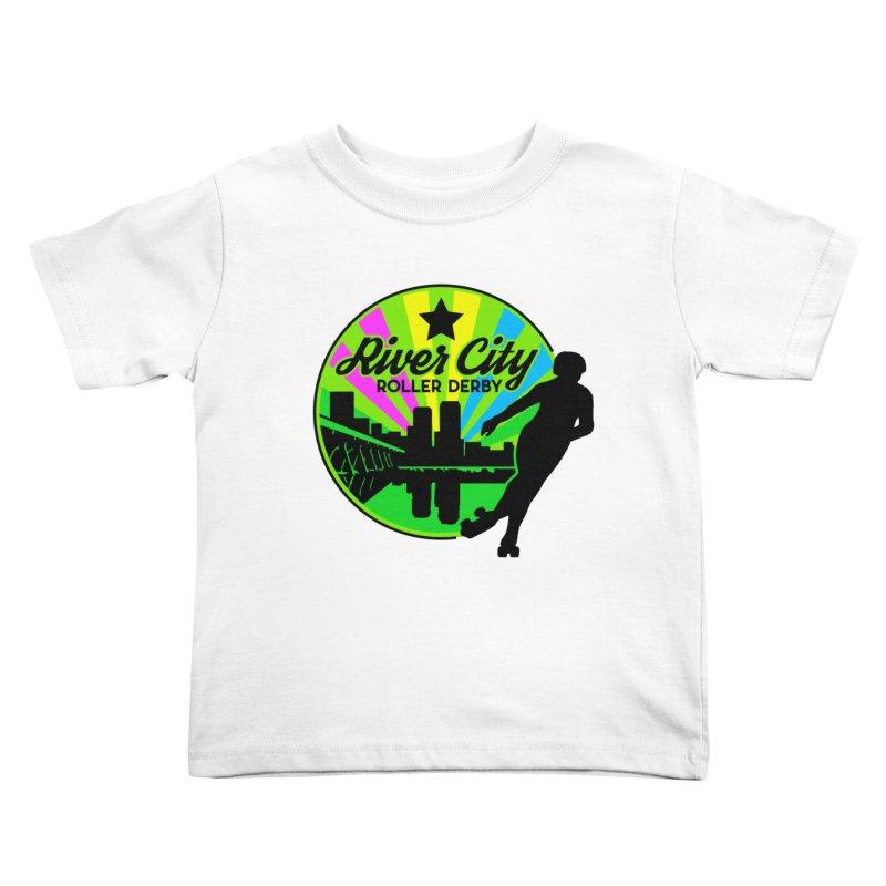 2019 Pan Pride! Kids Toddler T-Shirt by River City Roller Derby's Artist Shop
