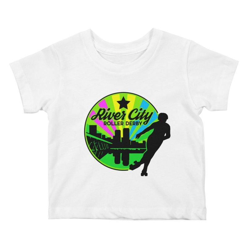 2019 Pan Pride! Kids Baby T-Shirt by River City Roller Derby's Artist Shop