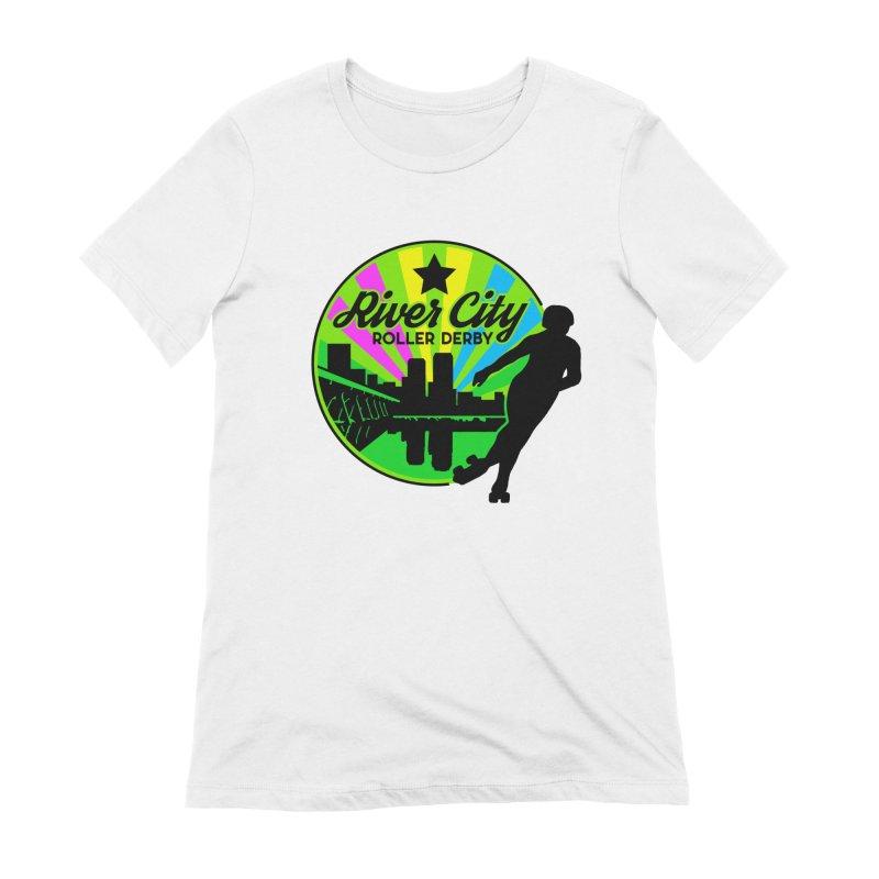 2019 Pan Pride! Women's T-Shirt by River City Roller Derby's Artist Shop