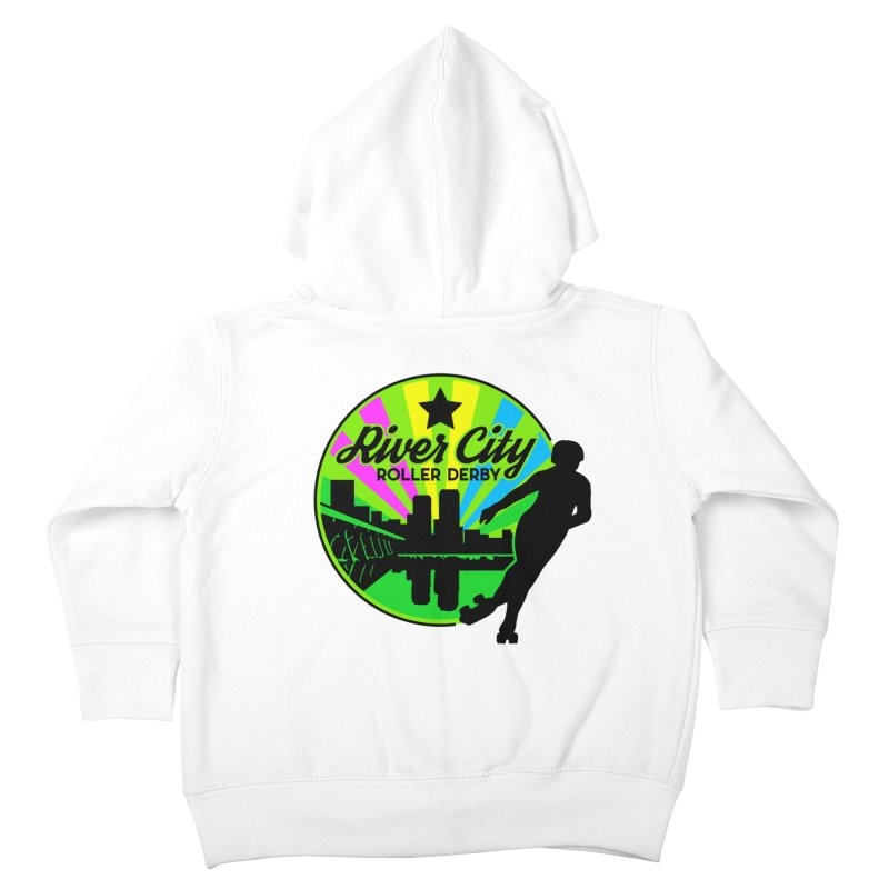 2019 Pan Pride! Kids Toddler Zip-Up Hoody by River City Roller Derby's Artist Shop