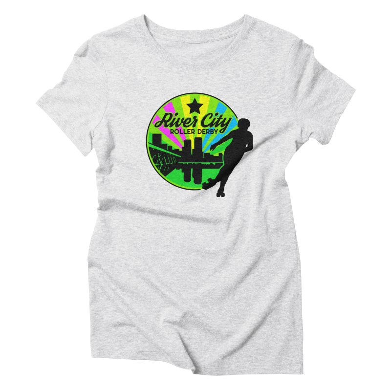 2019 Pan Pride! Women's Triblend T-Shirt by River City Roller Derby's Artist Shop
