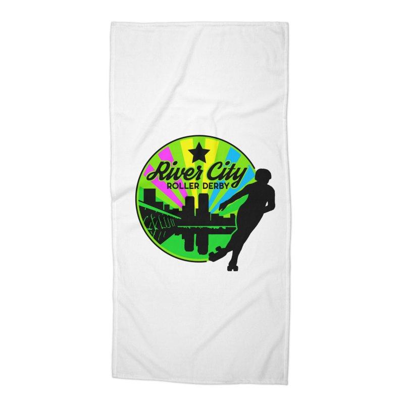 2019 Pan Pride! Accessories Beach Towel by River City Roller Derby's Artist Shop