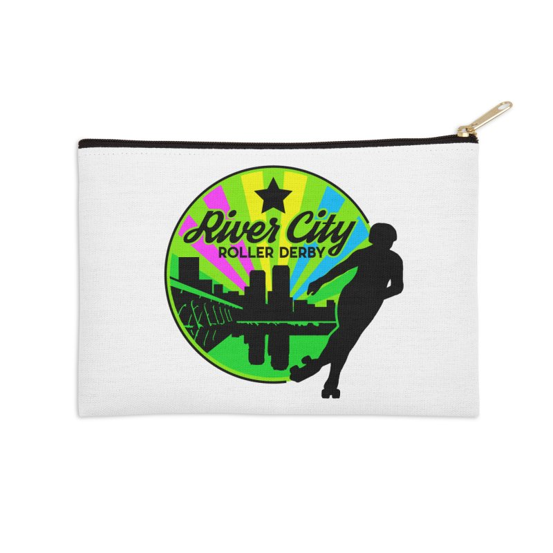2019 Pan Pride! Accessories Zip Pouch by River City Roller Derby's Artist Shop