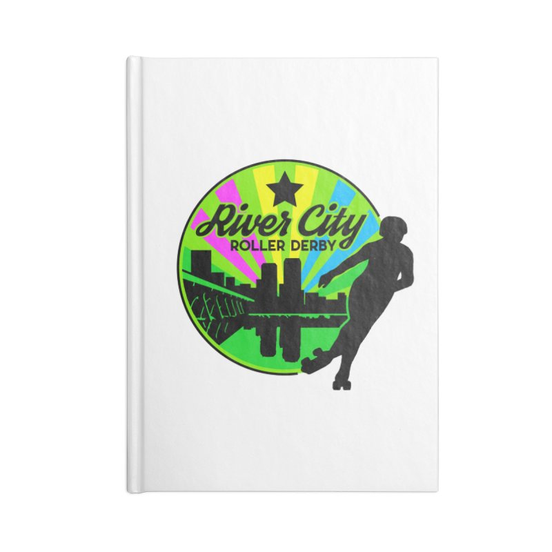 2019 Pan Pride! Accessories Lined Journal Notebook by River City Roller Derby's Artist Shop