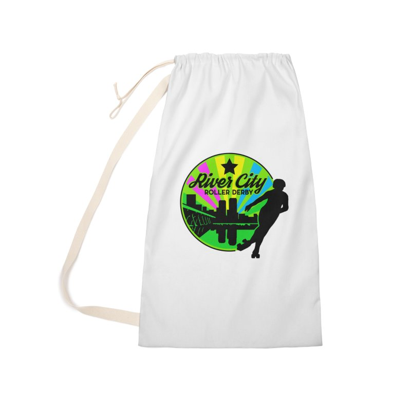 2019 Pan Pride! Accessories Laundry Bag Bag by River City Roller Derby's Artist Shop
