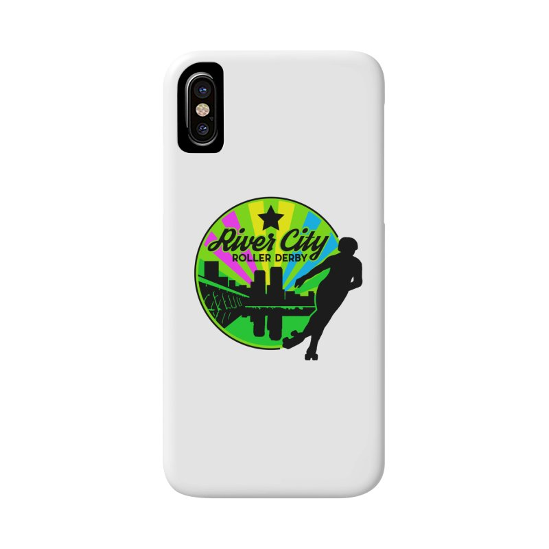 2019 Pan Pride! Accessories Phone Case by River City Roller Derby's Artist Shop