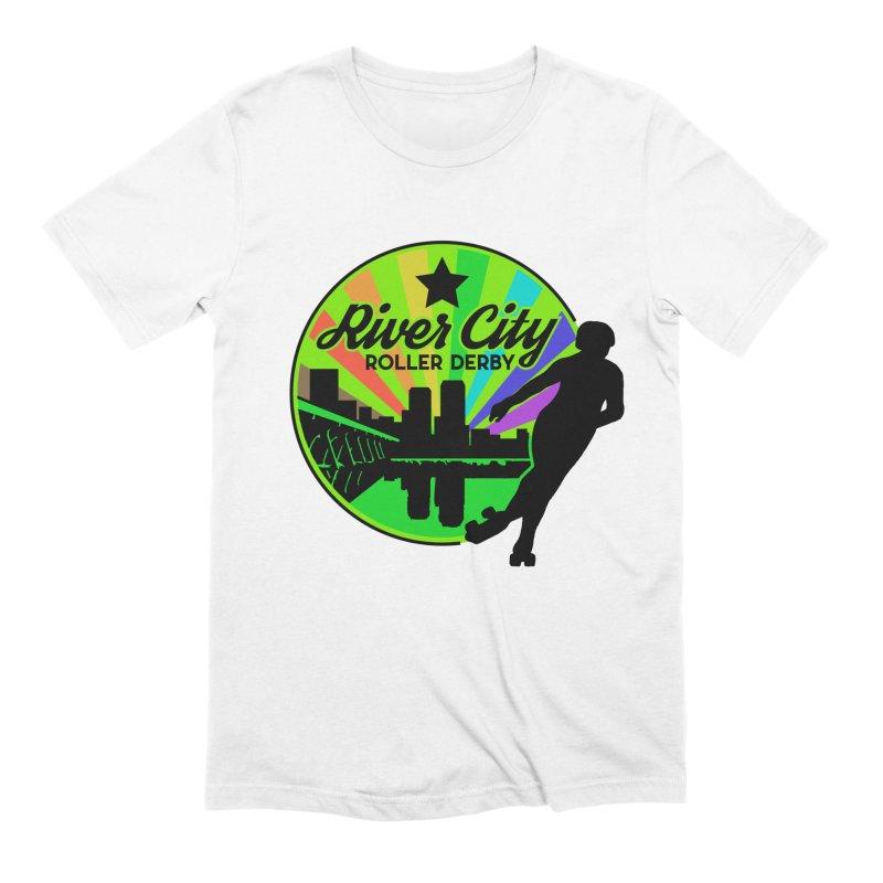 2019 Pride! Men's T-Shirt by River City Roller Derby's Artist Shop