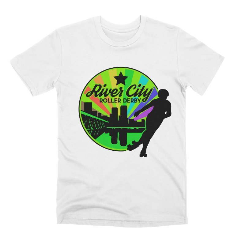 2019 Pride! Men's Premium T-Shirt by River City Roller Derby's Artist Shop