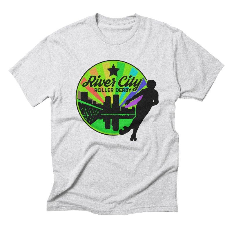 2019 Pride! Men's Triblend T-Shirt by River City Roller Derby's Artist Shop