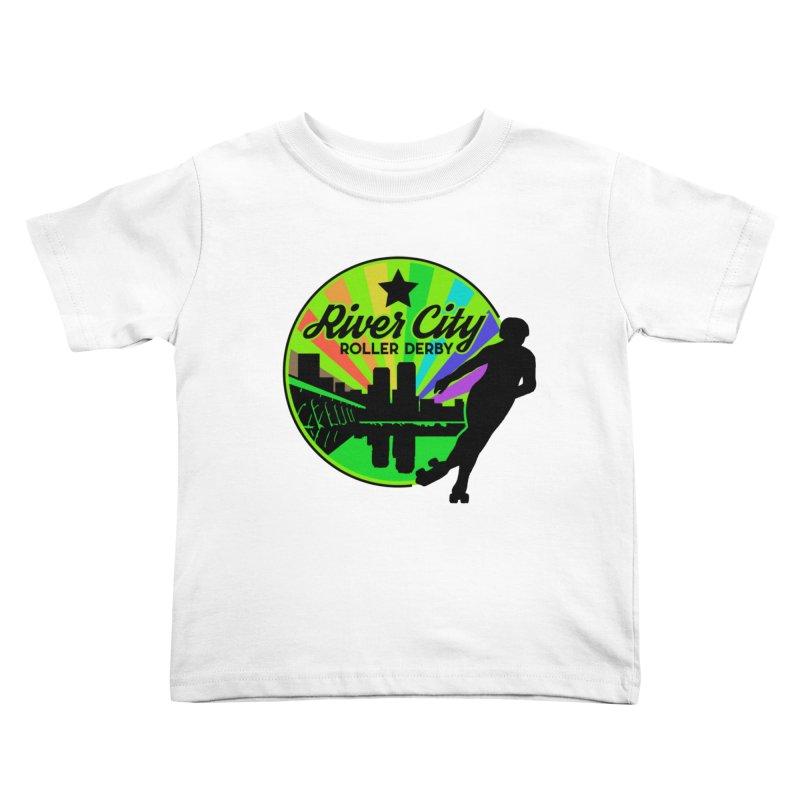 2019 Pride! Kids Toddler T-Shirt by River City Roller Derby's Artist Shop