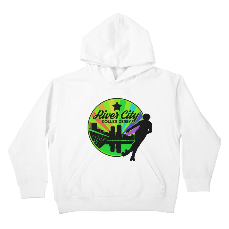 2019 Pride! Kids Pullover Hoody by River City Roller Derby's Artist Shop