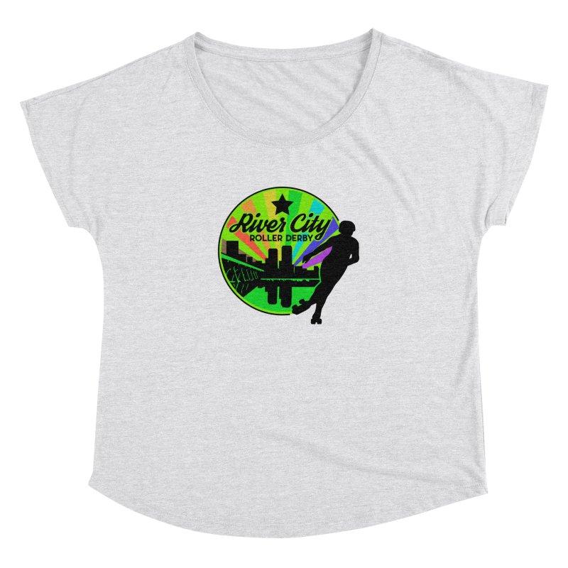 2019 Pride! Women's Dolman Scoop Neck by River City Roller Derby's Artist Shop