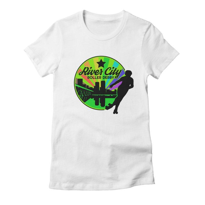 2019 Pride! Women's T-Shirt by River City Roller Derby's Artist Shop