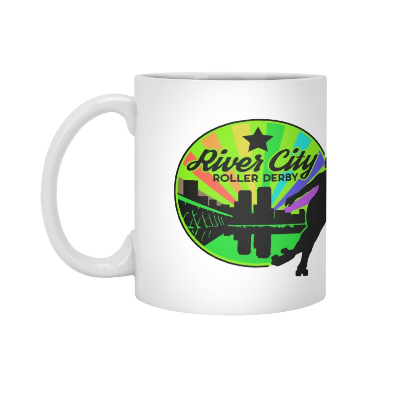 2019 Pride! Accessories Mug by River City Roller Derby's Artist Shop