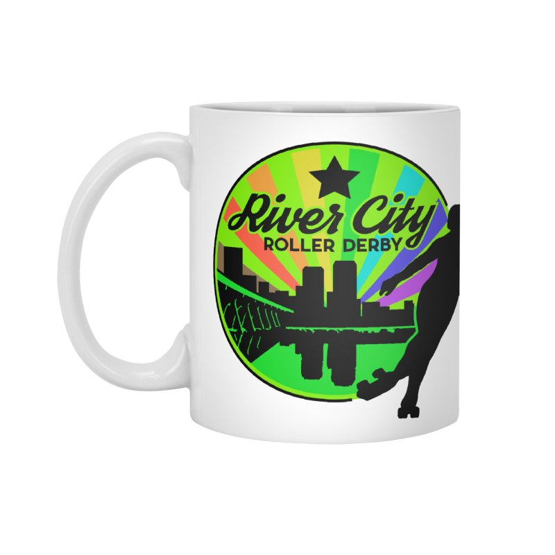 2019 Pride! Accessories Standard Mug by River City Roller Derby's Artist Shop