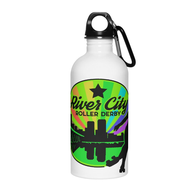2019 Pride! Accessories Water Bottle by River City Roller Derby's Artist Shop