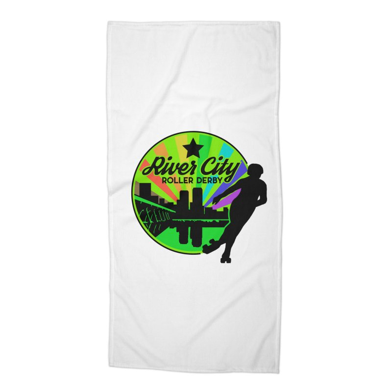 2019 Pride! Accessories Beach Towel by River City Roller Derby's Artist Shop