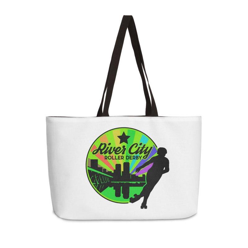 2019 Pride! Accessories Weekender Bag Bag by River City Roller Derby's Artist Shop