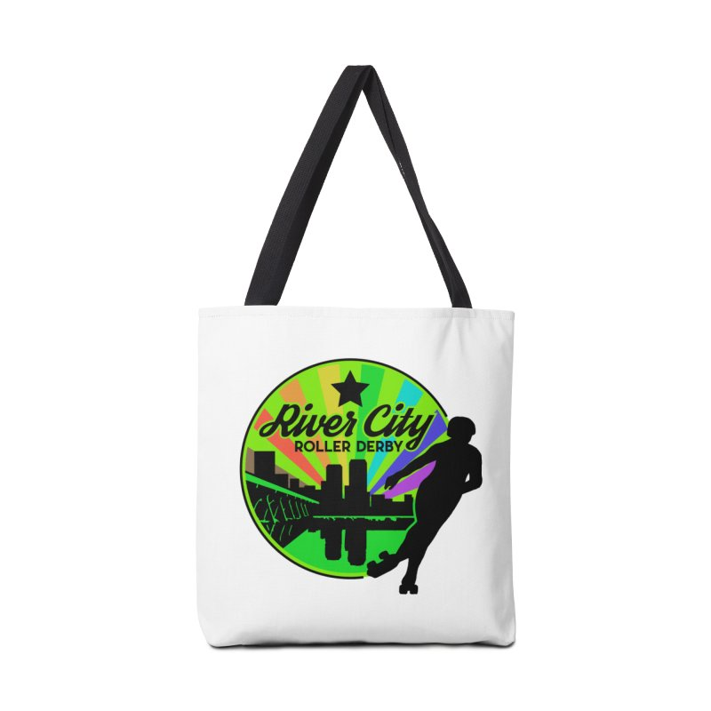 2019 Pride! Accessories Tote Bag Bag by River City Roller Derby's Artist Shop