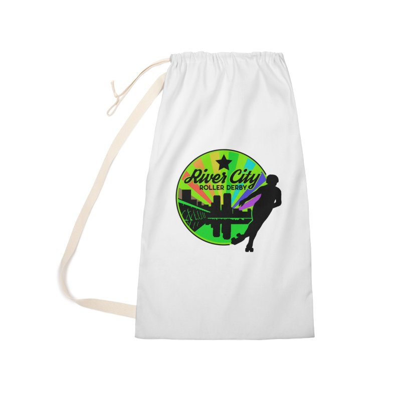 2019 Pride! Accessories Laundry Bag Bag by River City Roller Derby's Artist Shop