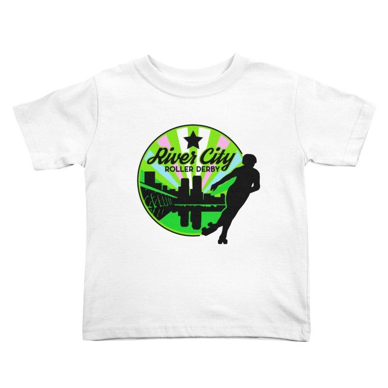 2019 Trans Pride! Kids Toddler T-Shirt by River City Roller Derby's Artist Shop