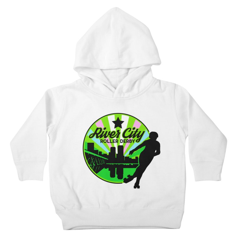 2019 Trans Pride! Kids Toddler Pullover Hoody by River City Roller Derby's Artist Shop