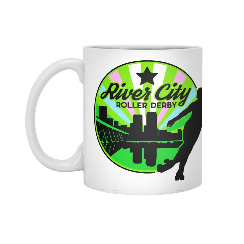 2019 Trans Pride! Accessories Standard Mug by River City Roller Derby's Artist Shop