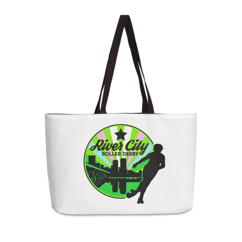 2019 Trans Pride! Accessories Weekender Bag Bag by River City Roller Derby's Artist Shop